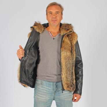 Куртка- трансформер из волка с капюшоном
